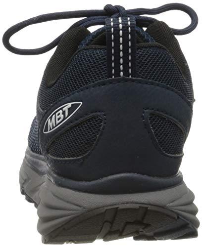 MBT Men's Colorado 17 Petrol Blue Rocker Bottom Fitness Walking Shoe Size 11