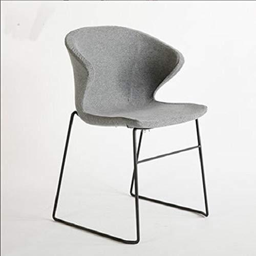 Zhouzl Hogar & Jardín Nordic Dining Chair Silla de recepción del Hotel...
