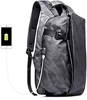 Anti Theft Backpack Security Rucksacks 15.6 Inch Business Travel Backpack Bag With Key Bag & USB Charging, Water Resistant College School Computer Rucksack Work Backpack