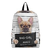ビジネスリュック リュックサック バックパック かわいい 犬 大容量 ファスナー アウトドア 15.6インチPC 軽量 盗難防止 おしゃれ男女兼用 通勤 通学 多機能