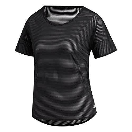 adidas Commuter T-Shirt, Maglietta da Donna, Nero/Bianco, XS
