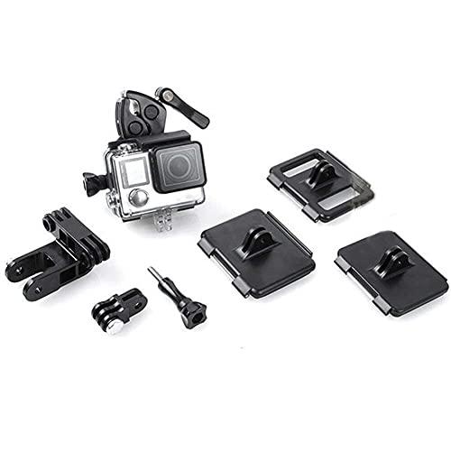GzxLaY Nuevo Soporte para caña de Pescar, Arco, Pistola, Clip de Abrazadera para Deportistas, para GoPro Hero 4/3/3 + para Accesorios de cámara de acción Xiaomi Yi.