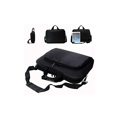 15.6 In Laptop Shoulder Bags Carry Cases For Hp Dell Lenovo Acer Asus Notebooks Black