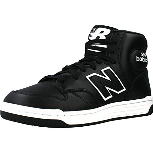 New Balance BB480HD, Zapatillas Deportivas Hombre, Negro/Blanco, 44.5 EU