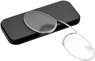 c841a773bc PANGHU Gafas de lectura sin patillas graduadas para hombre y mujer  transparentes. Gafas de presbicia
