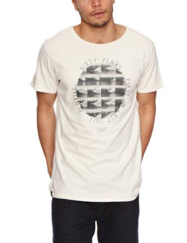 O\'Neill-Slogan Short Sleeve Steamer Lane Men\'Out T-Shirt Gr. XL, Weiß - Vaporous White