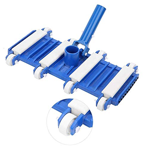 smallrun Cepillo Flexible para Piscina Limpiafondos Flexible, contrapeso de Acero Cepillo De...