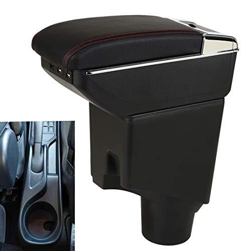 Per Yaris 2015-2021 Bracciolo Box Console Storage con portabicchieri portacenere