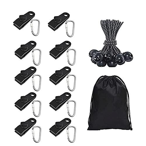 ZXZCHGN Kit de fijación de vela de Sun Shade, kit de toldos, conjunto de accesorios de toldo, utilizado para acampar al aire libre en patio de jardín, kit de hardware para accesorios de fijación de to