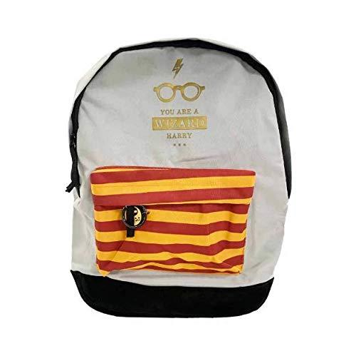 Mochila Harry Potter Cinza ms45722hp / UN/Luxcel - 62153