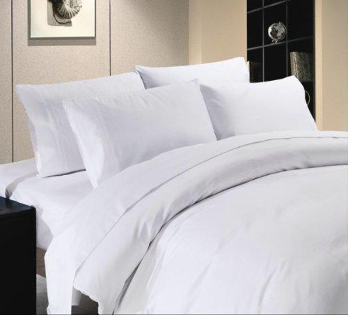 Comfort Beddings 800TC 3pc Duvet Cover Set Emperor Size 100% Egyptian Cotton Solid