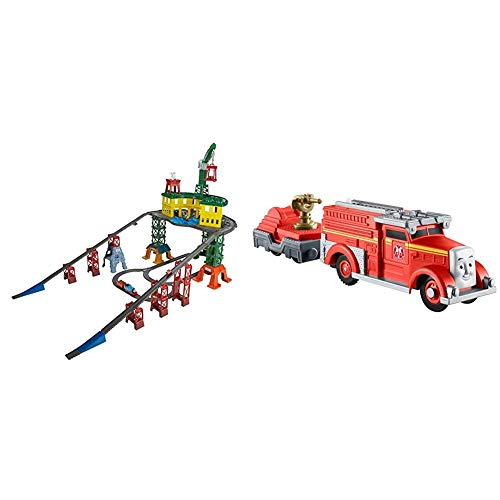 Thomas & Friends Fisher-Price Super Station & as & Friends Trackmaster, Fiery Flynn