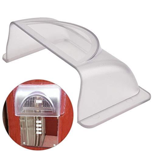 Kunststoff-Regenschutz, visuelle Intercom-Türklingel-Regenschutz, wasserdichte Abdeckung, Regenschutz für die Zugangskontrollmaschine, wasserdichte...
