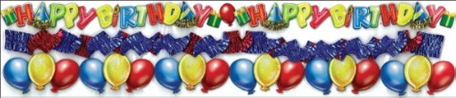 Jolee's Boutique Dimensional Border Stickers, Birthday