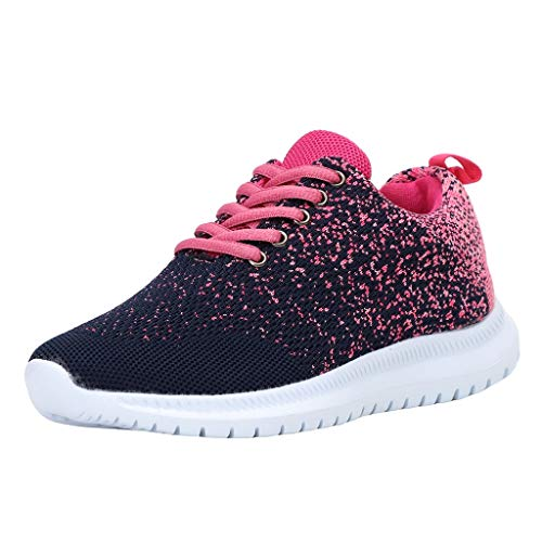 Luckycat Zapatillas de Deportivos de Running para Mujer Gimnasia Ligero Sneakers Azul...
