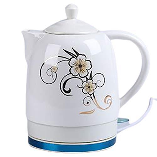 Bouilloire électrique en céramique 1.5L pliable Portable Portable Tea Pot En Acier Inoxydable Pour divertir Parti de famille invité,B