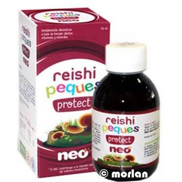 Reishi Neo Peques Protect - 150 gr Jarabe infantil a base de REISHI, VITAMINA C y ZINC   Sabor Pera - Dosis diaria máxima: 20 ml