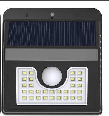 Solar Security Lights Motion Sensor Lights Adjustable Flood Lights Outdoor Spotlights IP65 Waterproof for Porch Garden Patio Yard Garage Pathway