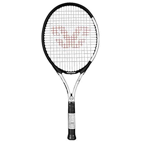 YFDD Raqueta de Tenis Solo Conjunto de la Raqueta, la Raqueta de Tenis for Adultos con Tapa Hombres Mujeres aijia (Color : Black)