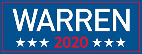 "Warren 2020 rectangle bumper, I Make Decals ®, funny, humor, Hard Hat, lunch box, tool box, Helmet Stickers 3""x8"