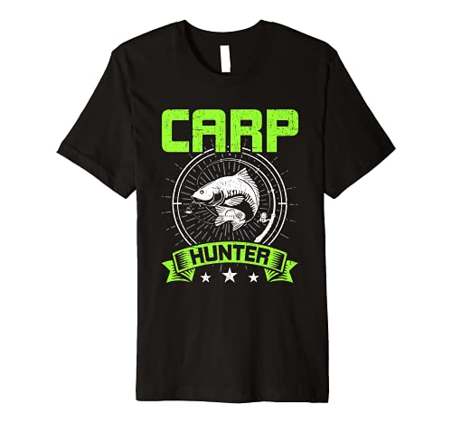 Carp Hunter Fly Carp Fishing Premium T-Shirt