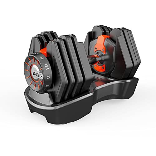 BOUDECH OTTERPAK - Manubrio a carico variabile Regolabile da 1,5 a 15 kg