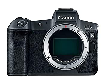 Canon Full Frame Mirrorless Camera [EOS R]  Vlogging Camera  Body  with 30.3 MP Full-Frame CMOS Sensor Dual Pixel CMOS AF Wi-Fi and 4K Video Recording up to 30 fps