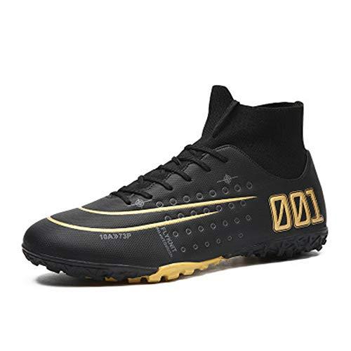 Botas de fútbol, Zapatos de fútbol, Zapatos de fútbol Juvenil para Hombres, Entrenamiento de competición, Zapatos Antideslizantes 39 6