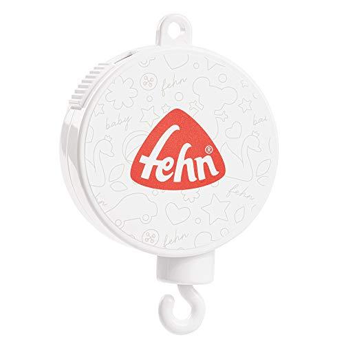 Fehn 249026 Musik-Mobile Spielwerk, Melodie- Brahms Wiegenlied