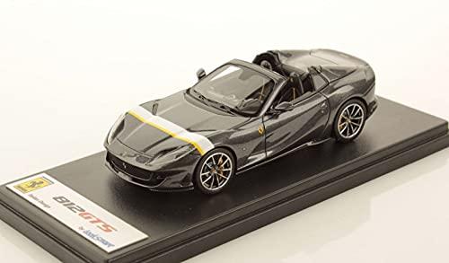Looksmart Ferrari 812 GTS Spider Gris Silverstone - Banda amarilla 1/43