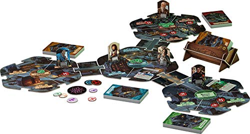 Arkham Horror 3rd Edition Board Game | Mystery Game | Strategy Game | Cooperative Board Game for Adults and Family | Ages 14+ | 1-6 Players | Average Playtime 2-3 Hours | Made by Fantasy Flight Games