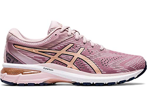 ASICS Women's GT-2000 8 Running Shoes, 8.5M, Watershed Rose/Rose Gold