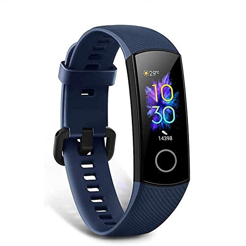 HONOR Band 5 Smartwatch Armband mit Pulsmesser,Wasserdicht IP68 , Schlafmonitor Fitness Tracker Blau