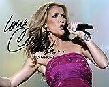 THEPRINTSHOP Celine Dion Autogramm mit Autogramm und