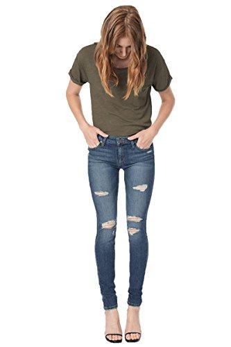 Joe's Jeans The Icon Skinny Jeans, Blu (Seneka), 25W x 32L Donna