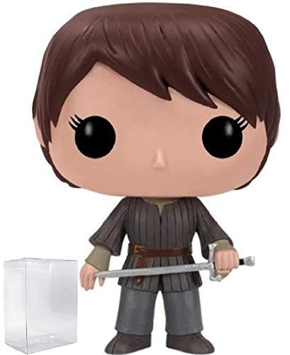 Game of Thrones Arya Stark Funko Pop Figurine en vinyle avec étui de protection compatible Pop Box