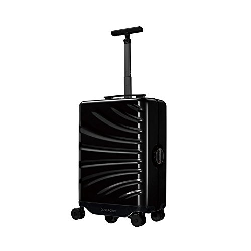 Smart Carry on Luggage, COWAROBOT Rover Robot Suitcase, automatic follow-up trunk, boarding/built-in removable battery (20 inch)