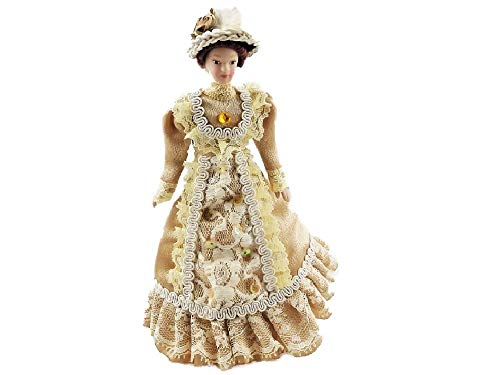 Melody Jane Casa de Muñecas Victoriana Lady en de Café Con