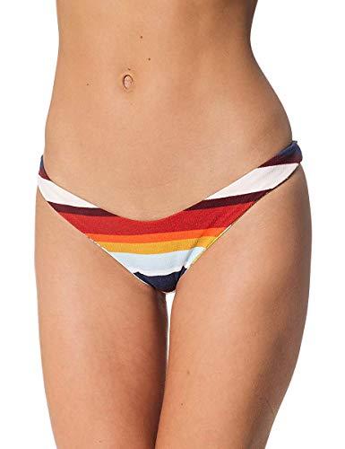 Rip Curl Verano Lovin Revo Coqueto Pantalón Braga de Bikini en Ligero Rosa - Rosa Claro, 14