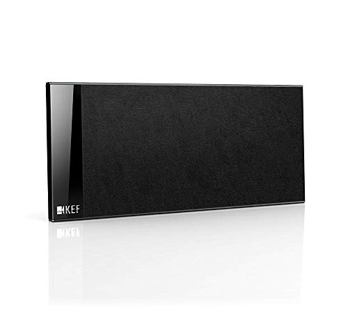 KEF T101C Center Channel Speaker - Black (Single)