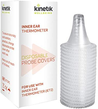 Kinetik Wellbeing Inner Ear Thermometer Probe Covers x 20