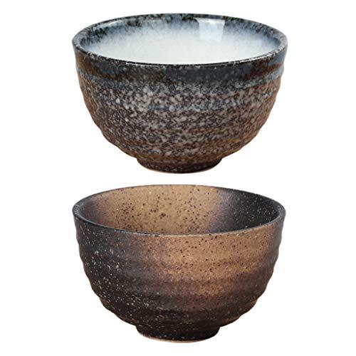 P Prettyia Bol à Thé en Céramique Cérémonie Japonaise Bol Matcha Durable