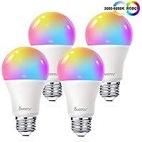 4-Pack Avatar Smart WiFi LED Light Bulb