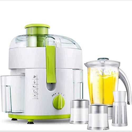 SMX Juicer Machines, BPA-vrij gemakkelijk te reinigen, stille motor, sap recepten voor groenten en fruit, gehakt vleesmachine, ijs Crusher