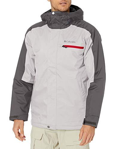 Columbia Men's Valley Point Jacket, Nimbus Grey/City Grey, XX-Large