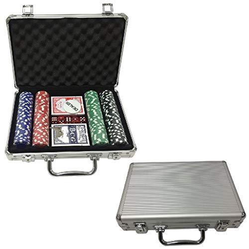 Ak Sport- Valise de Poker, 603014, Multi-Colour