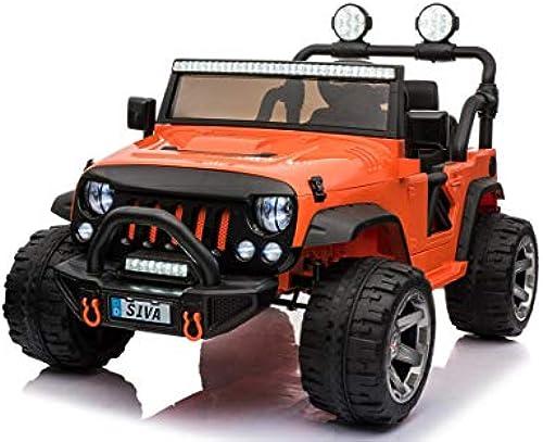 Siva Elektrofahrzeug Monster Truck rot 12V für Kinder