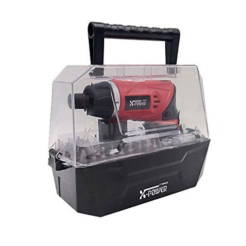 Cacciavite Elettrico 4Nm, Mini Trapano Avvitatore Batteria 3.6V, Avvitatore Elettrico Kit con direzione 2 rotazione for DIY, Assemblaggio Mobili (Color : Orange, Size : B)