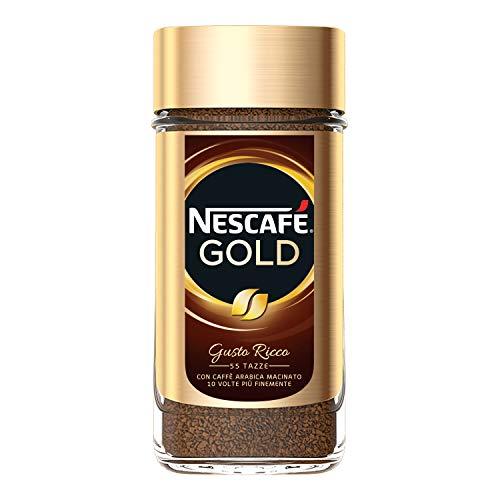 Nescafé Gold Caffè Solubile Barattolo, 100g