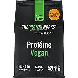 Proteína Vegana   Chocolate y Caramelo   100% A Base de Plantas   Sin Gluten   Ecológico   Bajo en Grasas   THE PROTEIN WORKS   500g